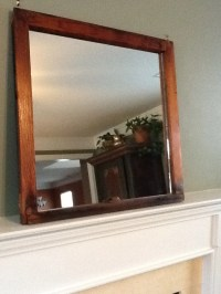 Rustic Wood Window Pane Mirror by TheDecorativeCompany on Etsy