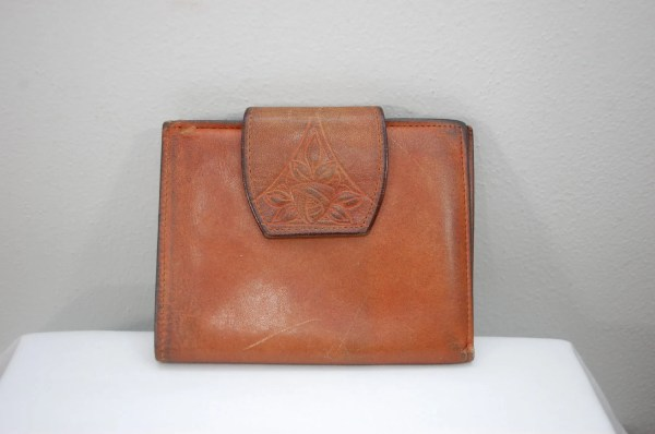 Vintage Rolfs Cowhide Leather Ladies Wallet Usa