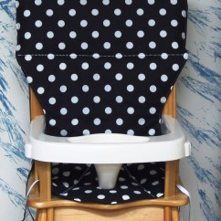 Graco Duodiner High Chair Cover Replacement Eames Shock Mounts Eddie Bauer Coverpadcushion Black