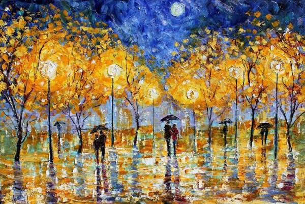 Modern Impressionist Paintings Artist