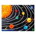 Solar system wall art print for children 20x16 giclee by njoyart