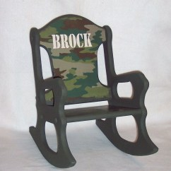 Kids Rocking Chair Baby Swinging Model No Ts Bs 16 Child 39s Camo Toddler
