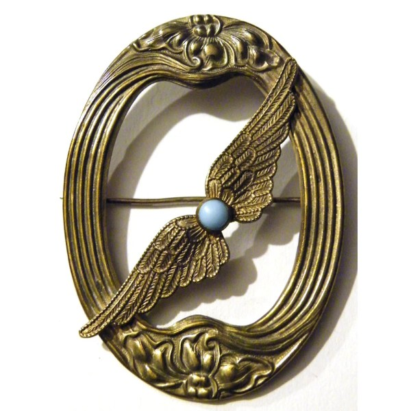 Steampunk Art Nouveau Antique Victorian Wings Tempusfugit
