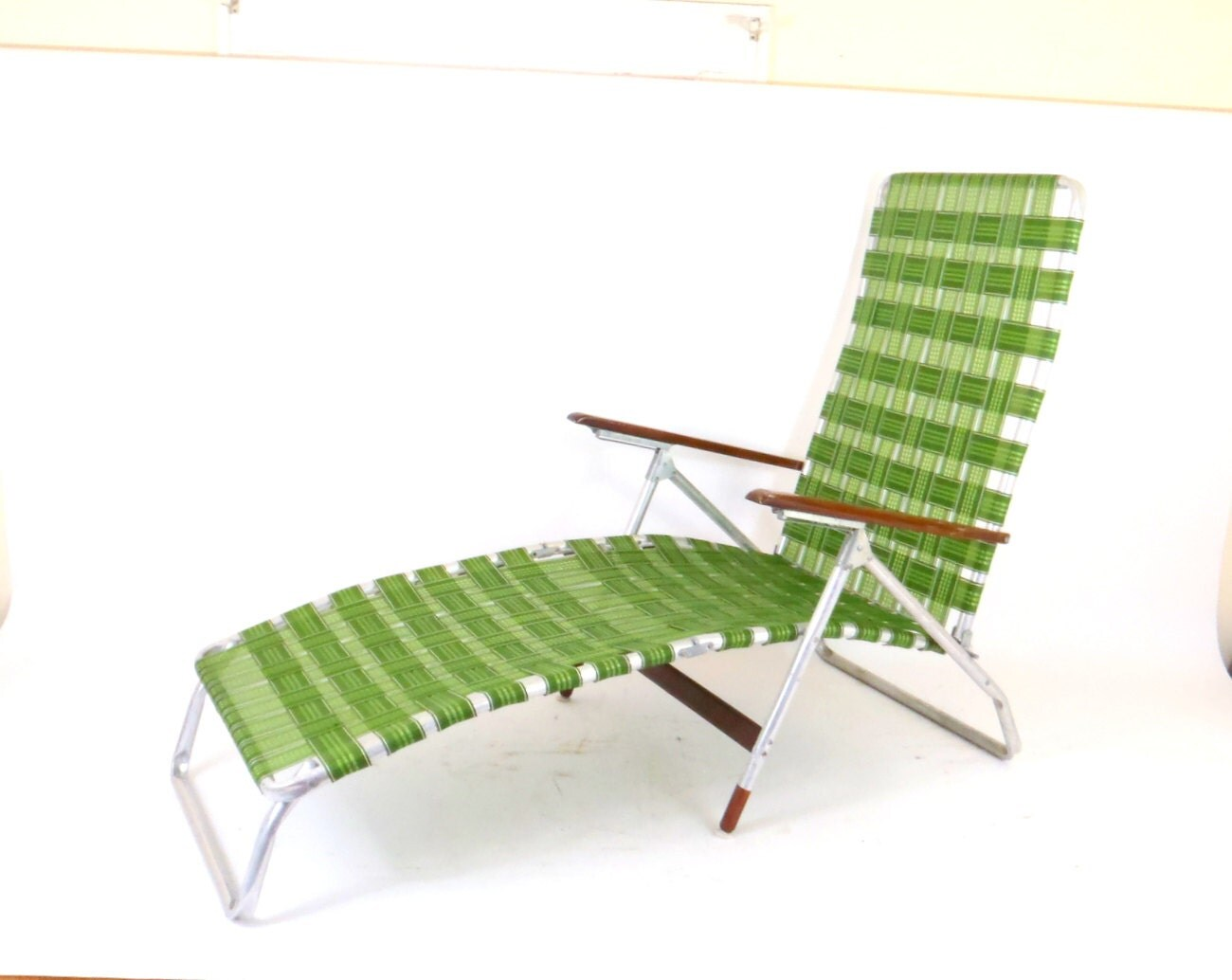 webbing for aluminum folding chairs chair design uk lawn chaise lounge