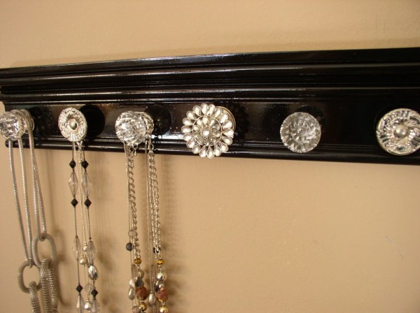 Wall Jewelry Holder. Necklace Holder 7 Gotahangup