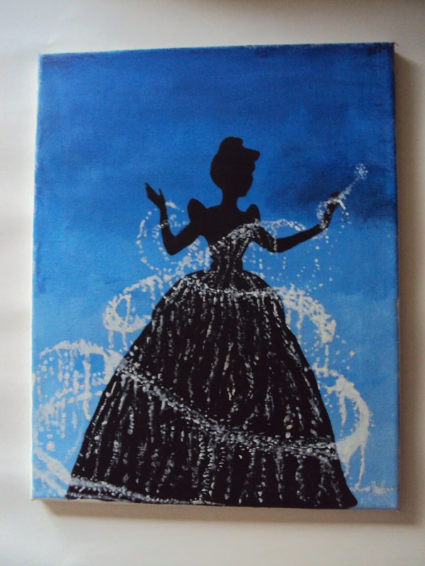 Disney Paintings On Canvas