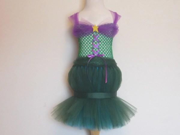 Little Mermaid Tutu Dress Full Length Ariel