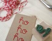 """Eco-friendly rubber stamp """"ho"""" - MOZAIQ"""