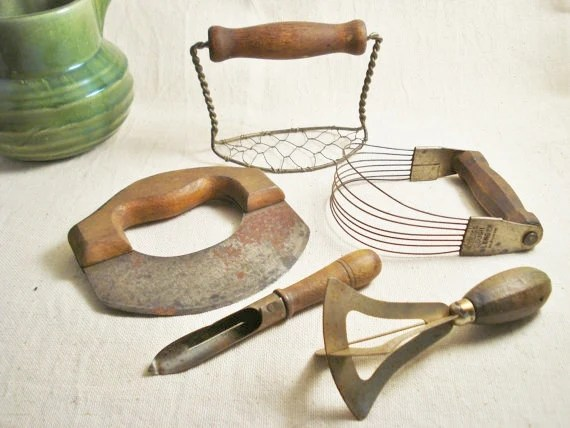 Vintage Kitchen Tools Utensils Antique