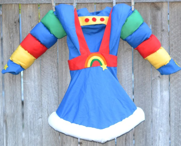 Vintage Halloween Costume Rainbow Brite Lindastimecompass