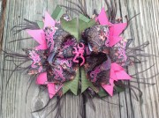 camo ott boutique hair bow