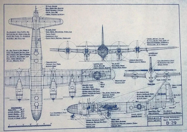 b 29 engine diagram wiring diagram g9 layout boeing b 29 superfortress b 29 engine diagram [ 1500 x 1059 Pixel ]