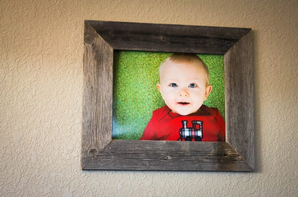 Barnwood Frame 11 X 14 With Reclaimed Wood