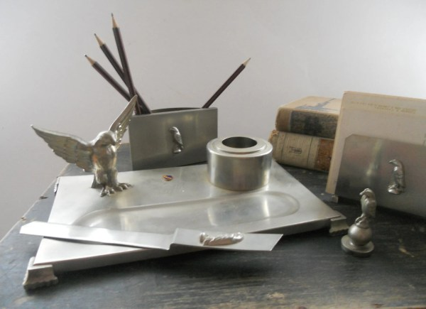 Vintage Office Supplies Desk Accessories
