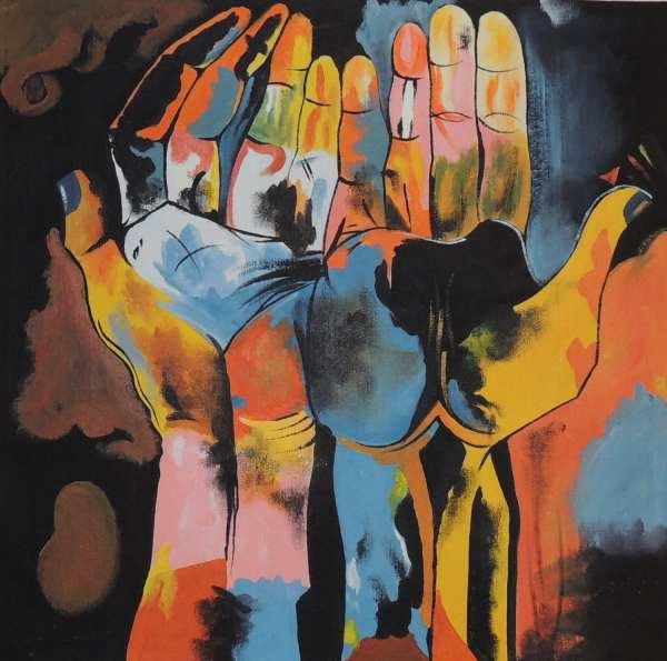 Guayasamin Diversity Hands Cubism Ecuadorian