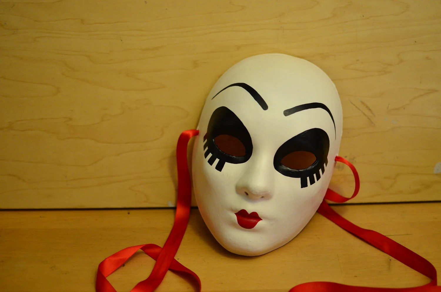 Twisted Metal Doll Face Mask