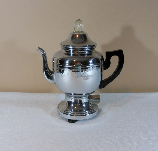 Vintage Farberware Percolator 206 Coffee Pot 2cool2toss