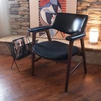 60s MID CENTURY MODERN Walnut Wood Chair by ACESFINDSVINTAGE