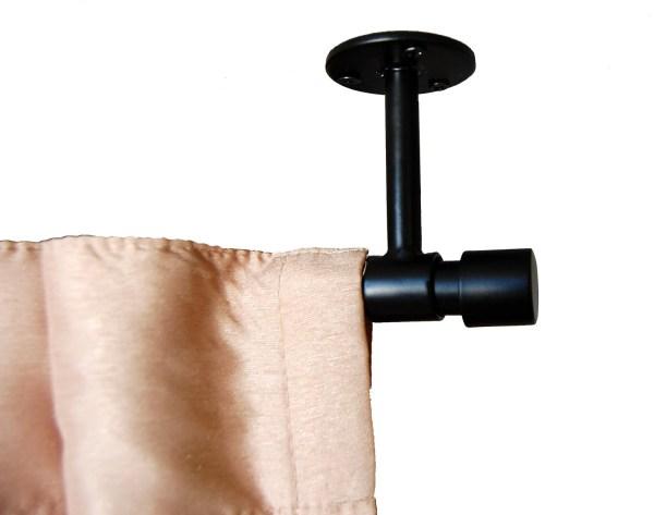 Ceiling Mount Curtain Rod Hardware