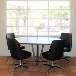 Chromcraft Chairs Vintage Postura Max Chair Reserved Dinette Set