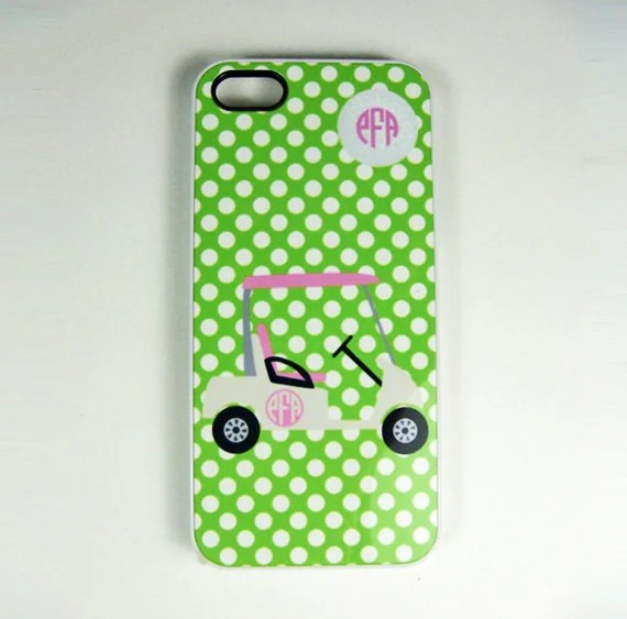Items similar to iPhone 4 4S or 5 Cell Phone Case Golf