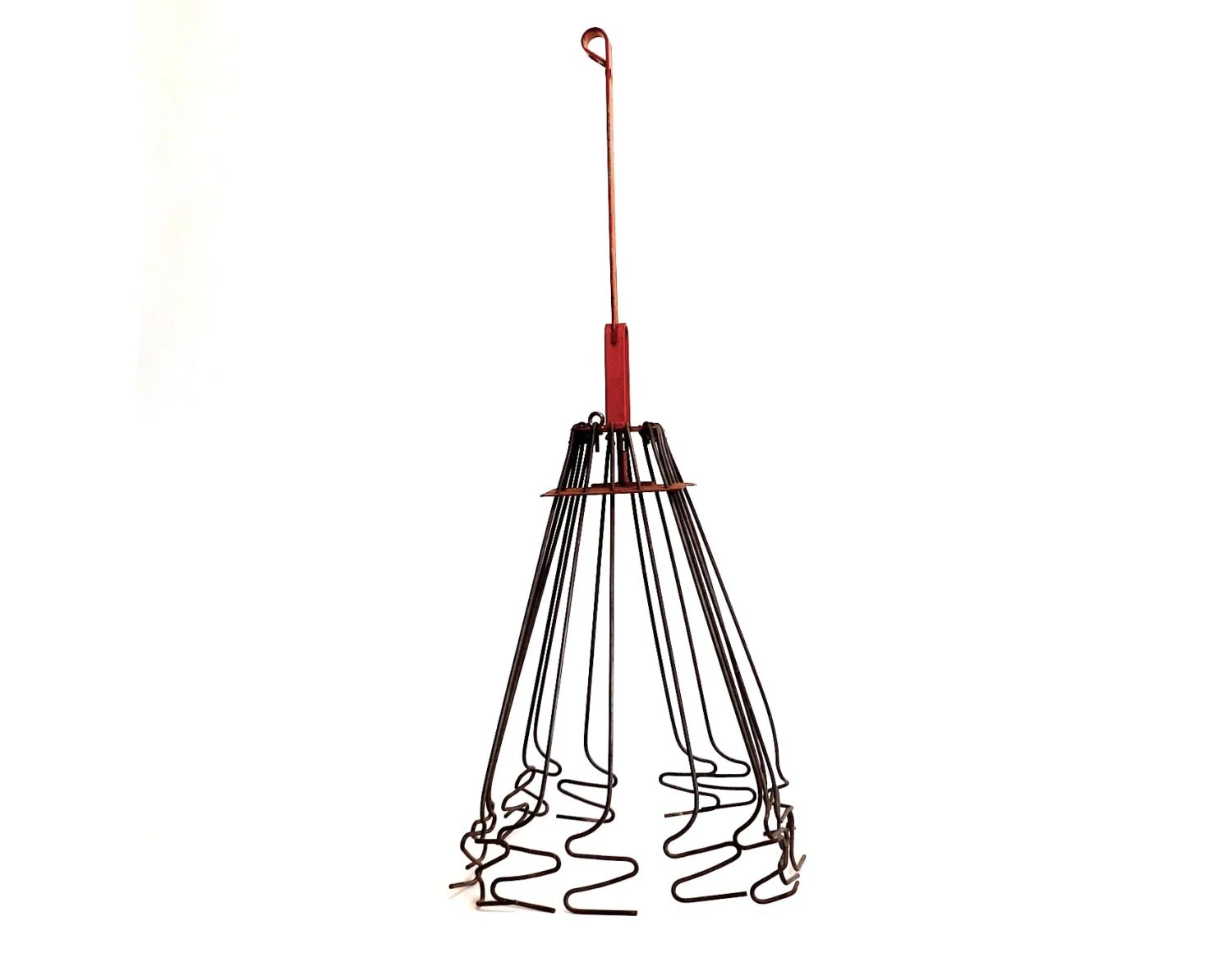 Items Similar To Chimney Cleaner Light Fixture Chandelier Frame Wire Included Gray And
