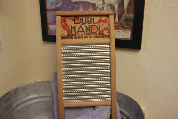 Vintage Washboard Small Travel Size Columbus