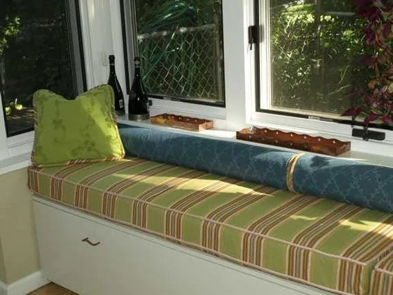 Custom Window Seat Cover By Micheleconti On Etsy