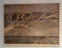 Rustic Indoor Outdoor Recycled Wood Wall Art