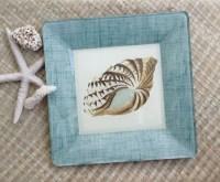 Items similar to Beach Decor / Sea Shell Art / Decoupage ...
