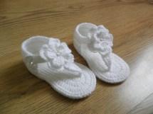 Crochet Baby Sandals Gladiator Booties
