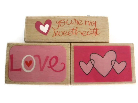Valentine's Day Rubber Stamps by Studio G: Hearts, Love, & You're My Sweetheart