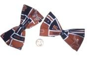 2 texas longhorn bows hairbows
