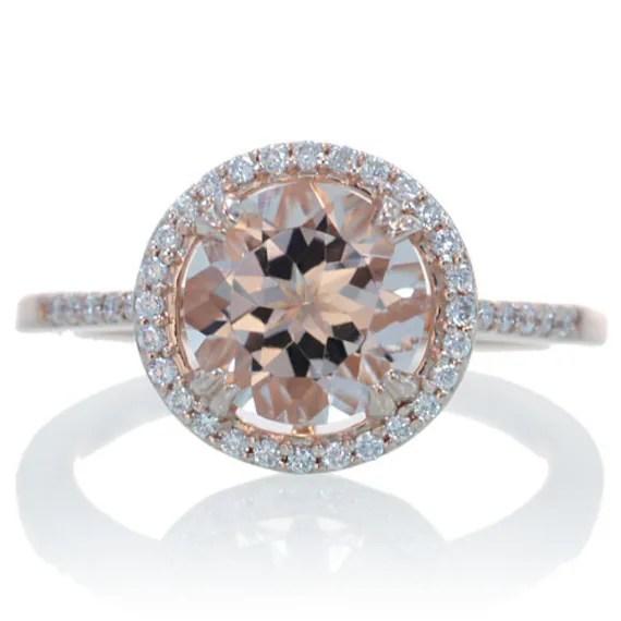 Rose Gold Engagement Rings: Rose Gold Engagement Rings