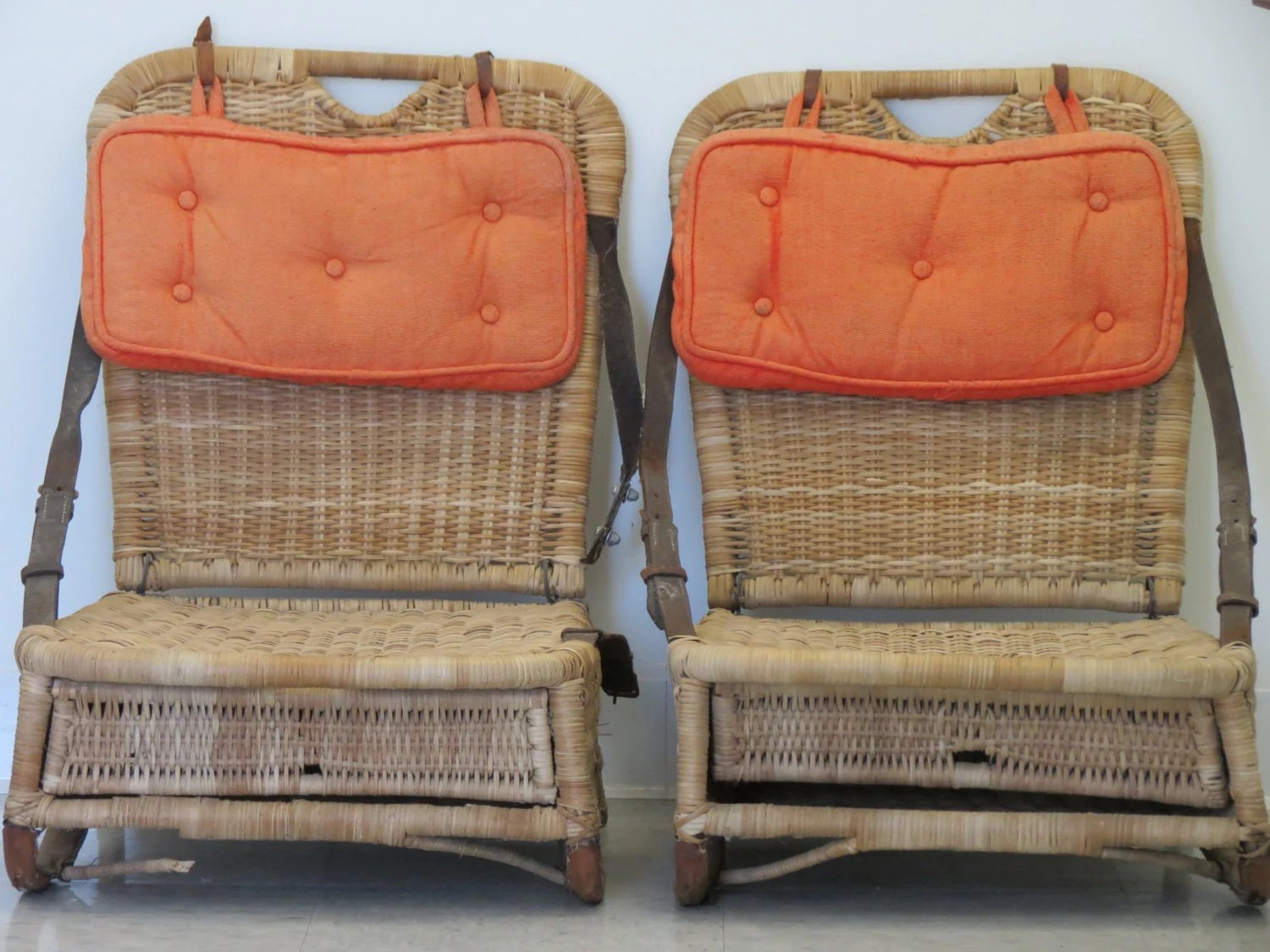canoe chair white wicker reserve for wayne antique seats camp decor old