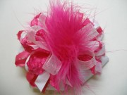 over top princess hair bow