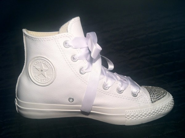 Custom Converse Wedding Shoes Chuck Taylor All by