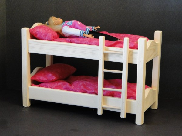 Doll Bunk Bed With Mattress 094