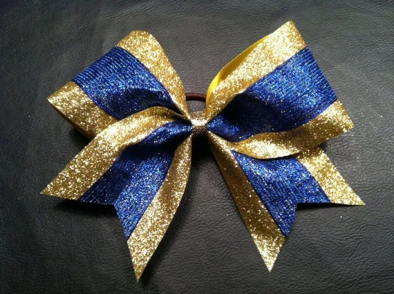 Items Similar To All Glitter Sparkle Royal Blue And Gold 3