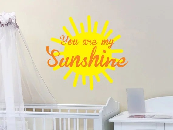 Sunshine Wall Decal by WallJems