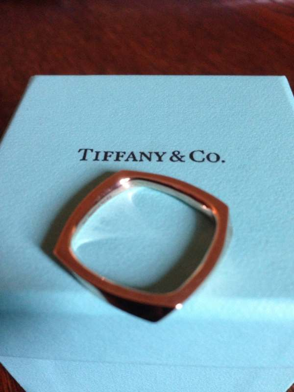 Tiffany 18k Rose Gold Frank Gehry Torque Ring