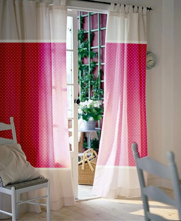 White Curtains for Kids Room