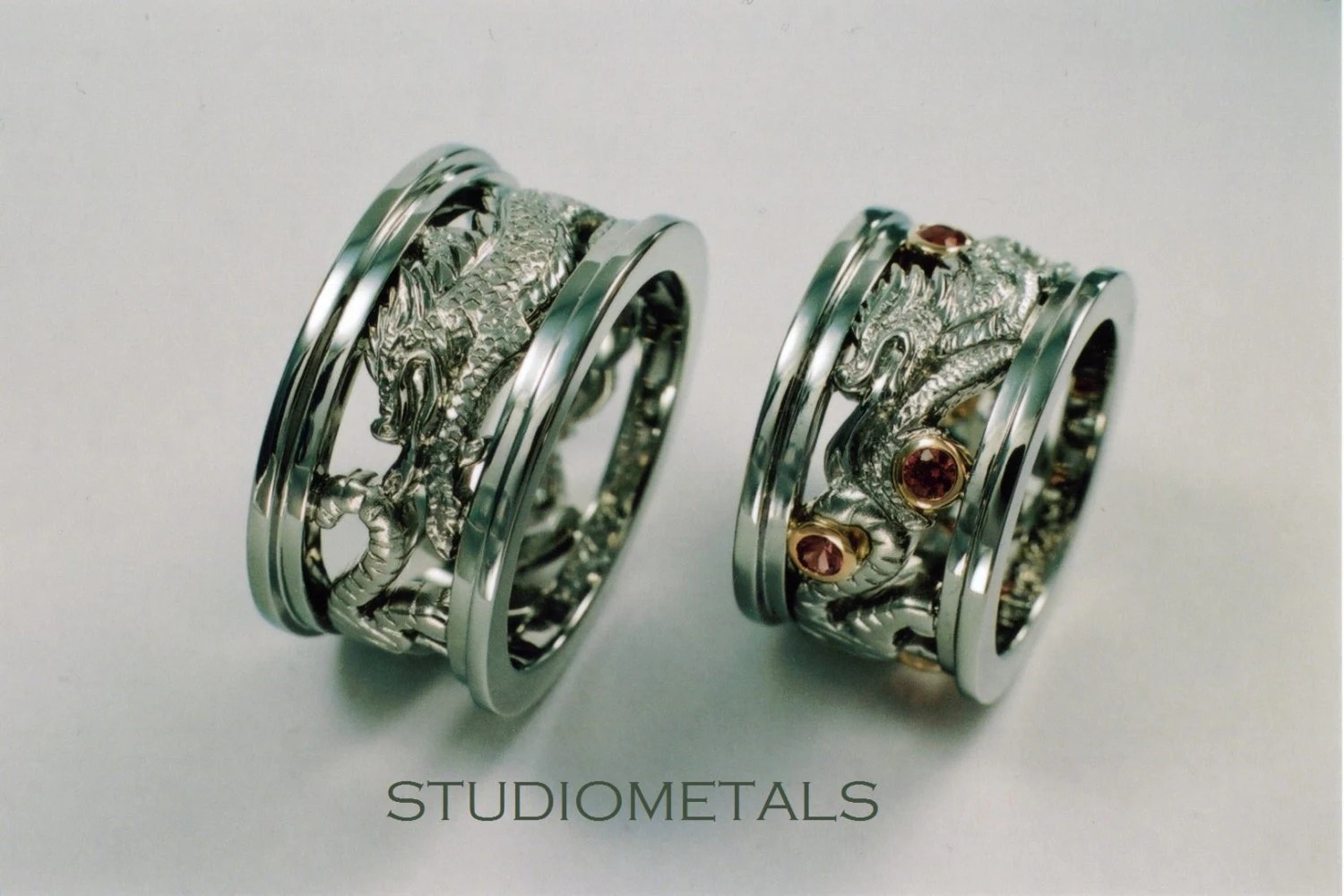 Personalized Chinese Zodiac Rings Wedding Rings By