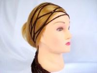 hippie head scarves crochet hair scarf wrap gypsy hippie ...