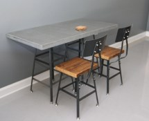 Concrete Dining Table Kitchen