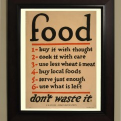 Vintage Posters For Kitchen Modular Outdoor Kitchens Lowes Food Poster 3 Sizes Available One Low