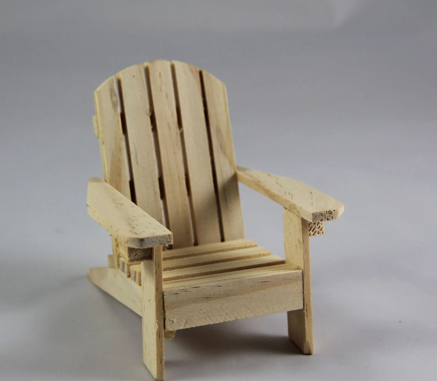 unfinished adirondack chair where can i rent a recliner wooden by rusticblend on etsy