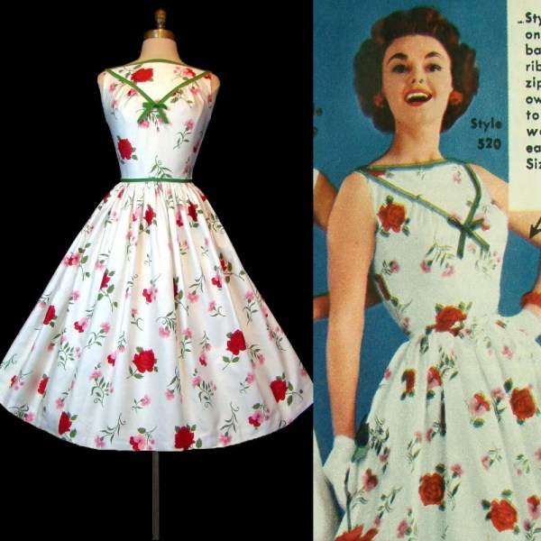 Items Similar Reserved 50s Wedding Dress - Red