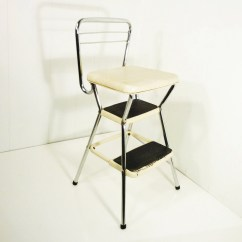 Chair Stool Retro Mesh Lounge Cosco 50s Vintage Step Kitchen