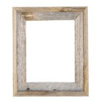 11x14 2 wide Barnwood Reclaimed Wood Open Frame No